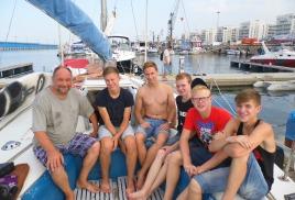 учебный поход на парусной яхте сочи - севастополь сочи